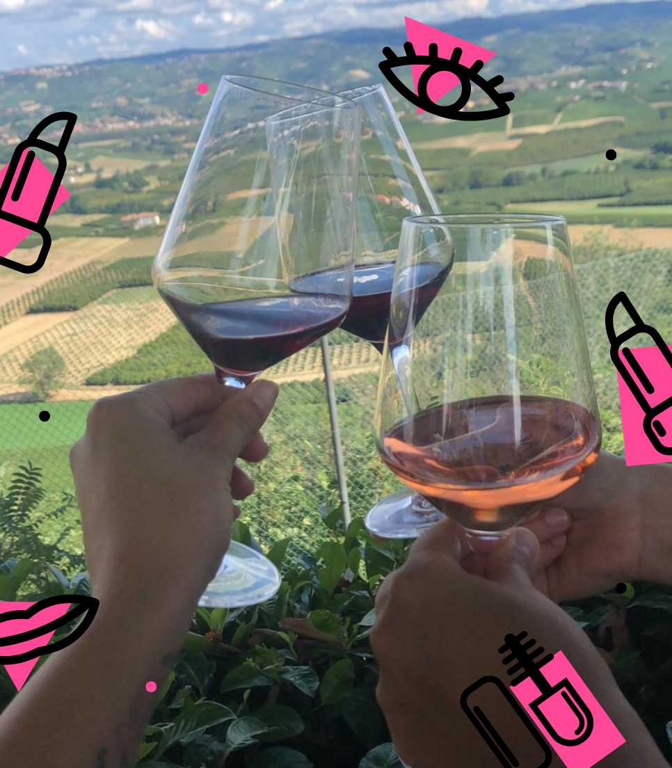 HEN PARTY IN THE LANGHE