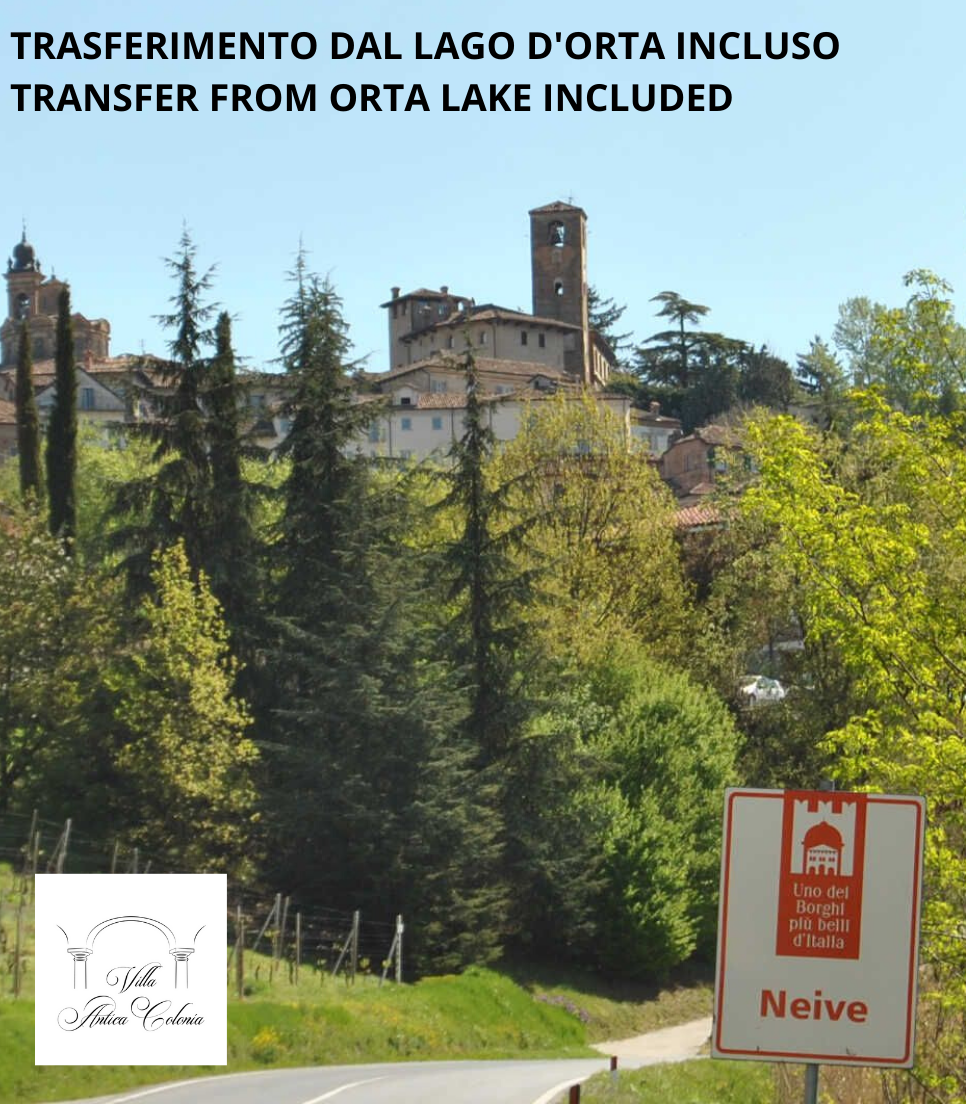 ALBA, LANGHE AND TRUFFLE HUNTING EXPERIENCE - TOUR FROM ORTA LAKE