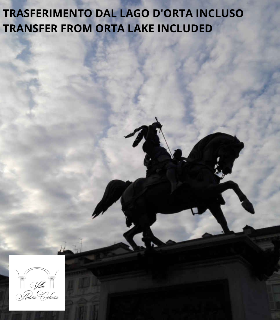 TURIN AND VENARIA PALACE - TOUR FROM ORTA LAKE